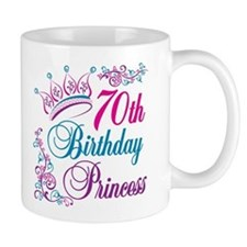 70th Birthday Princess Coffee Mug
