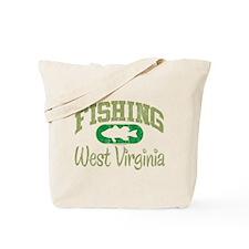 FISHING WEST VIRGINIA Tote Bag