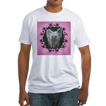 New Chinese Crested Design Fitted T-Shirt