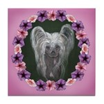 New Chinese Crested Design Tile Coaster