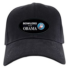 BOWLERS FOR OBAMA Baseball Hat