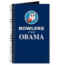 BOWLERS FOR OBAMA Journal