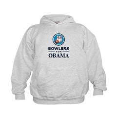 BOWLERS FOR OBAMA Hoodie