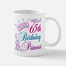 65th Birthday Princess Mug
