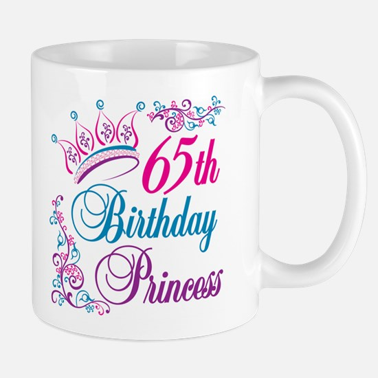 65th Birthday Princess Mug