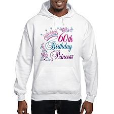 60th Birthday Princess Hoodie Sweatshirt