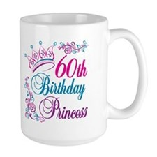 60th Birthday Princess Mug