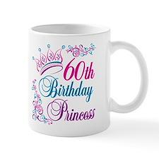 60th Birthday Princess Mug