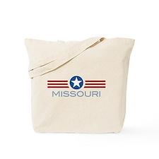 Star Stripes Missouri Tote Bag