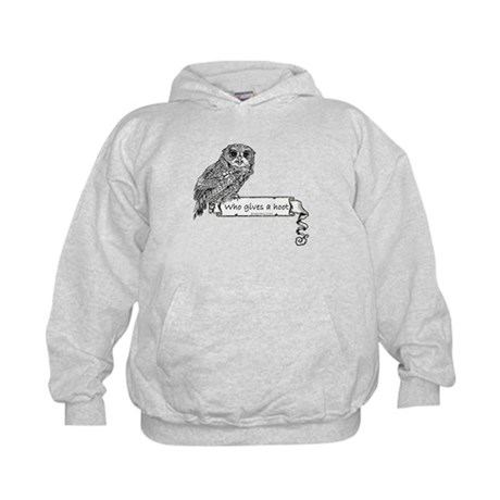 Hoot Owl Kids Hoodie