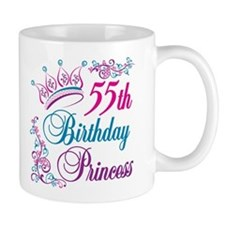 55th Birthday Princess Mug