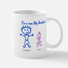 Benjamin is a Big Brother! Mug
