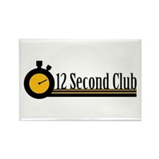 12 Second Club Rectangle Magnet (10 pack)