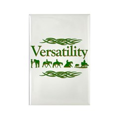 Versatility in green Rectangle Magnet
