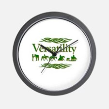 Versatility in green Wall Clock