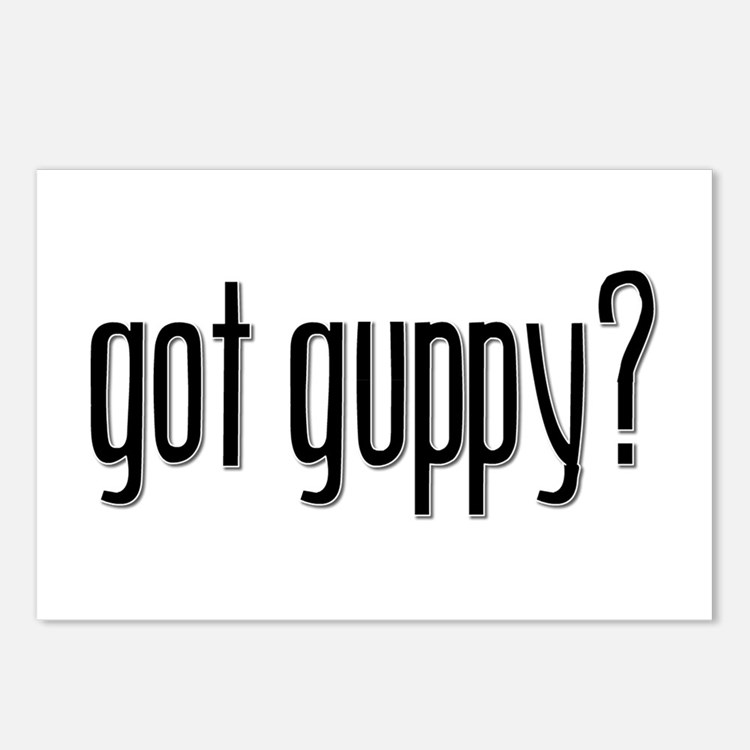 Got Guppy? Postcards (Package of 8)