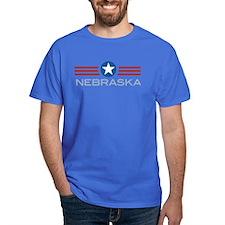 Star Stripes Nebraska T-Shirt