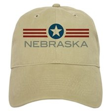 Star Stripes Nebraska Baseball Cap