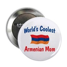 "Coolest Armenian Mom 2.25"" Button"