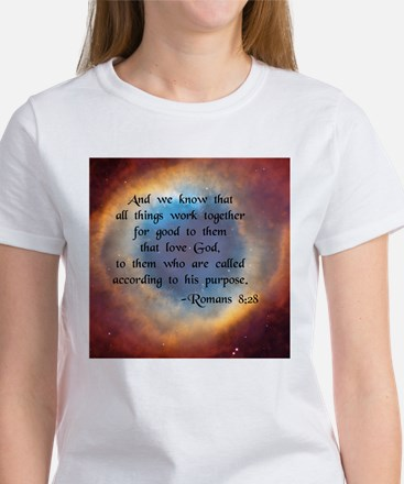 """""""All Things Work for Good"""" Women's T-Shirt"""