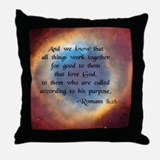 """""""All Things Work for Good"""" Throw Pillow"""