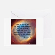 """""""All Things Work for Good"""" Greeting Cards (Package"""