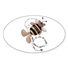 Spelling Bee Oval Decal