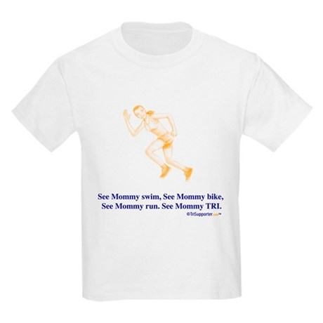 See Mommy TRI Kids Light T-Shirt