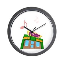 Music Store Wall Clock