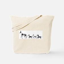 HHMtMrl Danetrain Tote Bag