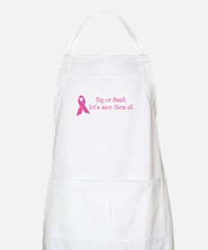 Big or Small, Let's Save Them All BBQ Apron