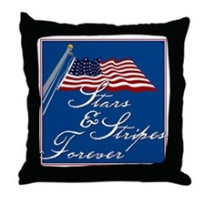 Stars & Stripes Forever - Throw Pillow
