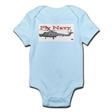 Lynx Royal Navy Helicopter Infant Creeper