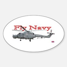 Lynx Royal Navy Helicopter Oval Decal