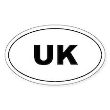 United Kingdom (UK) Oval Decal