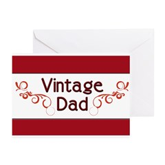 Vintage Dad Greeting Cards (Pk of 20)