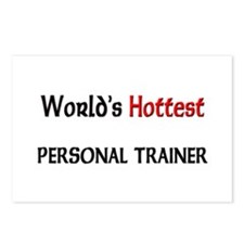 World's Hottest Personal Trainer Postcards (Packag