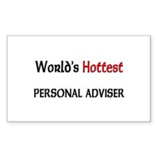 World's Hottest Personal Adviser Decal