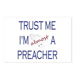Trust Me...Preacher Postcards (Package of 8)