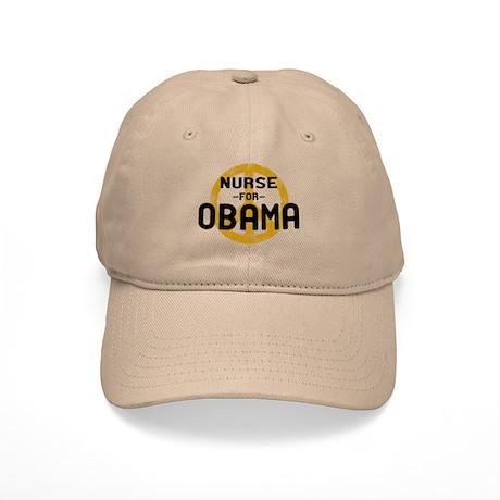 Nurse for Obama Cap