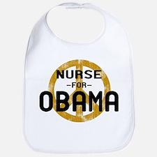 Nurse for Obama Bib