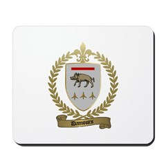 DAMOURS Family Crest Mousepad