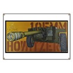 105 mm howitzer Banner