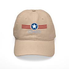 Star Stripes Ohio Baseball Cap