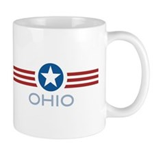 Star Stripes Ohio Mug