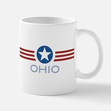 Star Stripes Ohio Mug