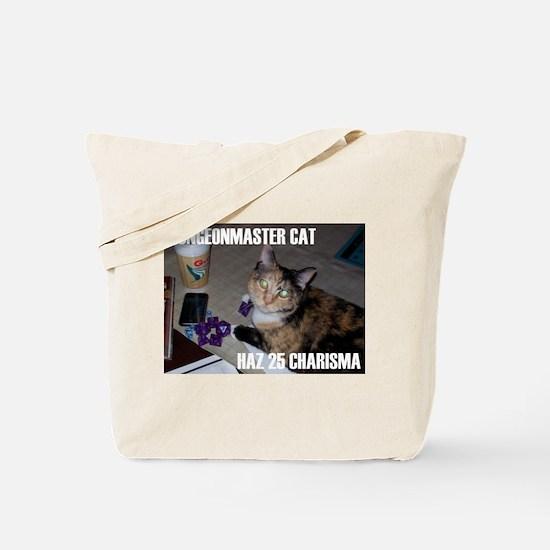 Dungeonmaster Cat Tote Bag