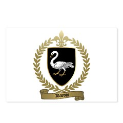 DAROIS Family Crest Postcards (Package of 8)