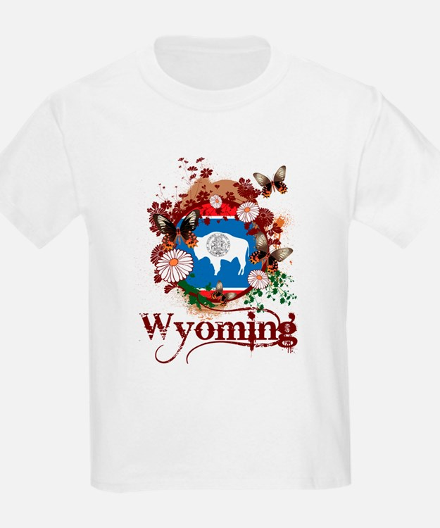 Butterfly Wyoming T-Shirt