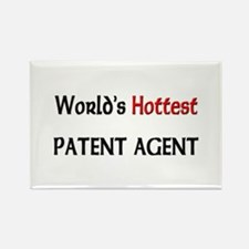 World's Hottest Patent Agent Rectangle Magnet